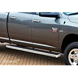 "iBoard Running Boards 4"" Fit 09-16 Dodge Ram 1500 10-16 Ram 2500/3500 Crew Cab"