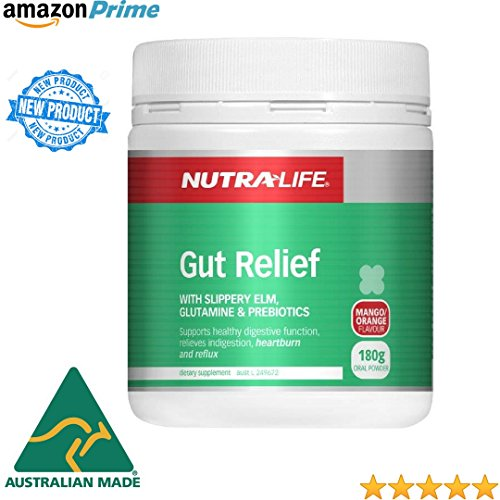 Soothing Gut Relief for Heartburn, Indigestion & Leaky Gut Try it for Acid Reflux, GERD, Colitis, IBS, Crohn's or Irritable Bowel Supports Digestive & Colon Health All in one for Gut Repair