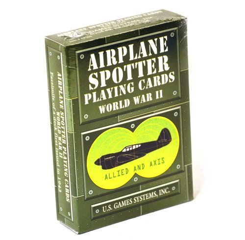Spotter Deck Airplane by US Games