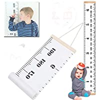 Metric Growth Chart for Kids,Baby Height Wall Hanging...