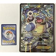 Pokemon XY Promo Card Regular Holo Rare Blastoise EX XY122 JUMBO CARD