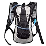 ETCBUYS Hydration Backpack - 2L (Liter) Water Pack and Waterproof Tactical Hydration Pack for Running, Hiking, Cycling, Camping, Hunting, Biking, Festivals, Themed Parks and Prevents Dehydration