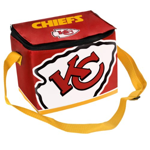 FOCO Kansas City Chiefs Big Logo Team Lunch (Kansas City Chiefs Lunch Box)