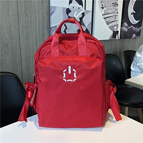 SQB Rucksäcke Portable, Volle Wasserdichte Oxford Cloth Shoulder Bag, Weibliche Koreanische Ausgabe Gezeiten große Kapazität Mode Tour Pack