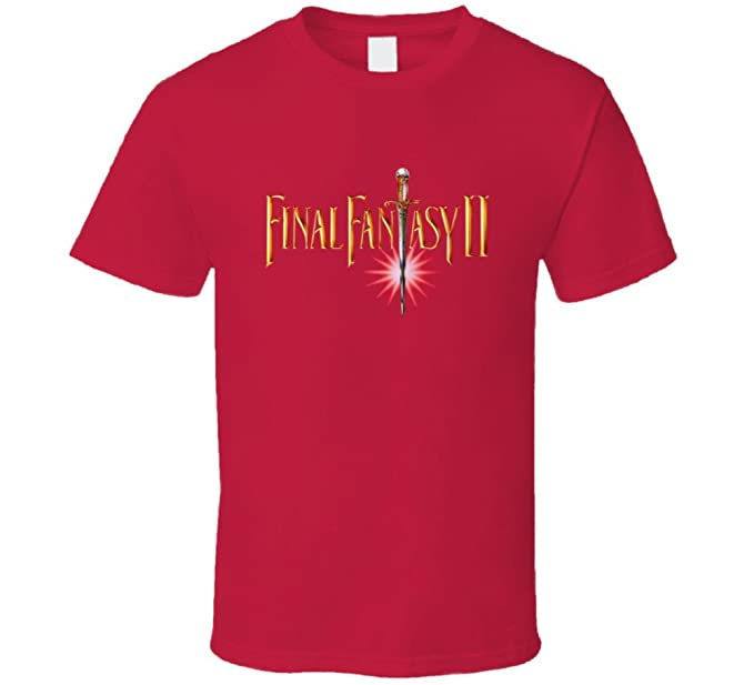 Final Fantasy Ii Box Art Nes T Shirt Amazon Com