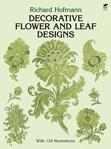 - Decorative Flower and Leaf Designs (Dover Pictorial Archive)