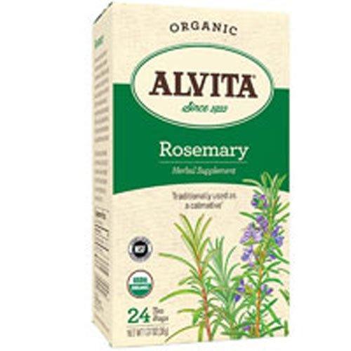 Alvita Teas, Organic, Rosemary Tea, Caffeine-Free, 24 Tea ()