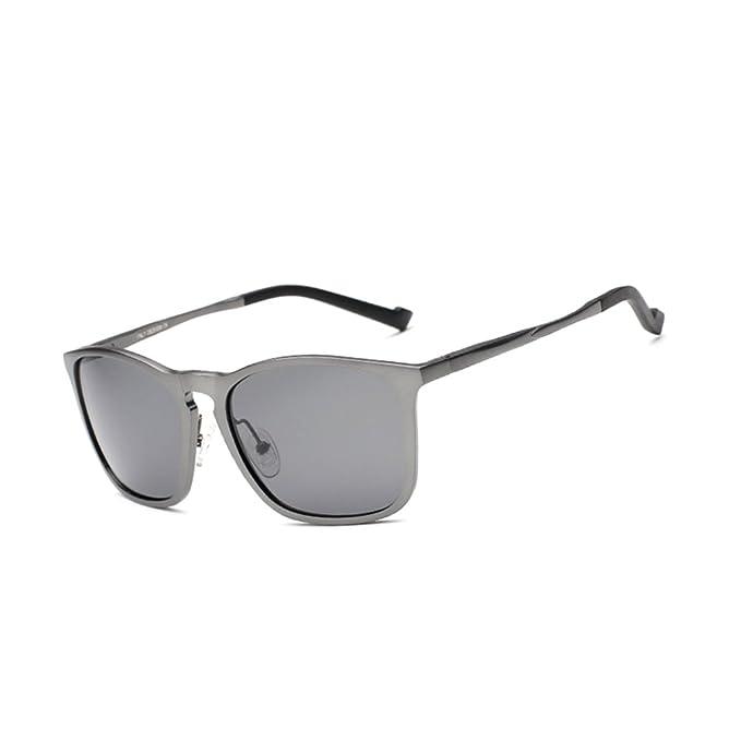 gafas de sol de los hombres/gafas polarizadas/Gafas antireflejo/Gafas de marco