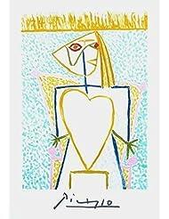 femme au buste en coeur