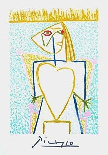 Femme au Buste en Coeur Coeur De Femmes