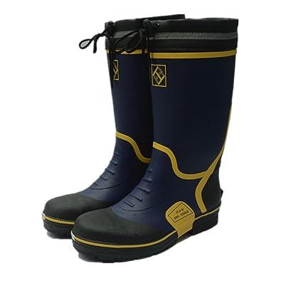 Erwachsene Herren Gummistiefel Regen Wasserdicht Angeln Bauplatz Sicherheit Schuhe mit Stahlplatte Schwarz und Rot (LL 43-44 EU, Grün)