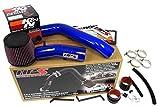 2004 honda accord intake kit - 07-08 Acura TL Type-S 3.5L V6 HPS Blue Cold Air Intake Kit + K&N Filter Cool Long Ram CAI