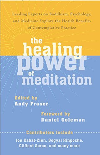 The Healing Power of Meditation: Leading Experts on Buddhism, Psychology, and Medicine Explore the Health Benefits of Contemplative Practice (Jon Kabat Zinn The Healing Power Of Mindfulness)