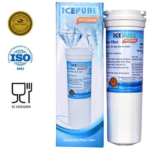 IcePure Refrigerator Water filter for Fisher & Paykel 836848, 836860, Amana 67003662, Comparable Refrigerator Water Filter Replacement - 2 Pack