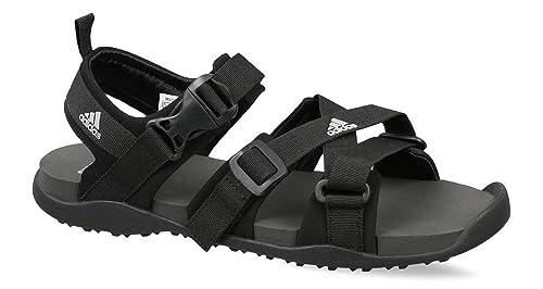 Adidas Men s Gladi Cblack Silvmt Grefiv Sandals-10 UK India (44 2 3 ... f675c9a2a