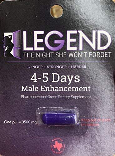 Legends Don Juan ME-72 HR Extreme - 20 Male Enhancement Pills - Texas Made