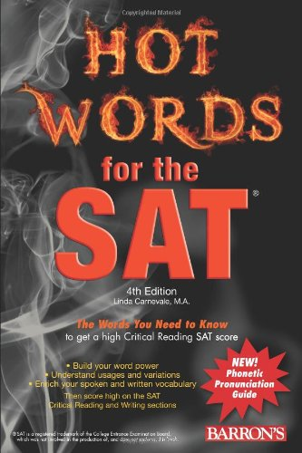 Hot Words for the SAT (Barron's Educational Series)
