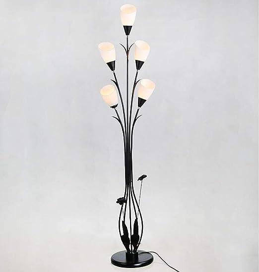 Lámpara de pie de moda del arte del hierro luces decorativas del ...
