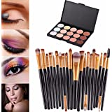 Susenstone®20 pcs/set Makeup Brush Set