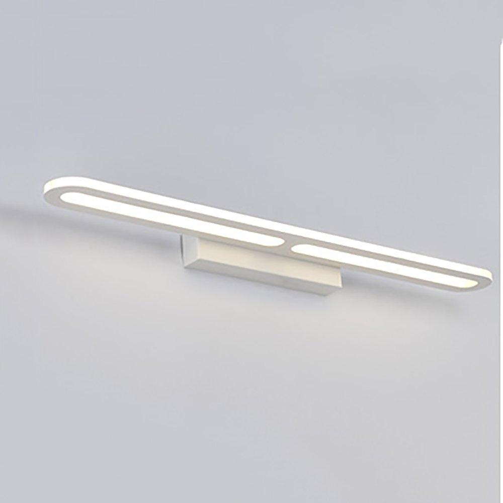 XRXY アクリル現代LEDミラーフロントライトベッドルームメイクアップライトバスルームミラーキャビネット防水ランプ ( 色 : 暖かい光 , サイズ さいず : 40cm-8W ) B07C3RNFBK 18476 40cm-8W|暖かい光 暖かい光 40cm8W