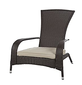 Amazon Com Patio Sense Coconino Wicker Adirondack Chair