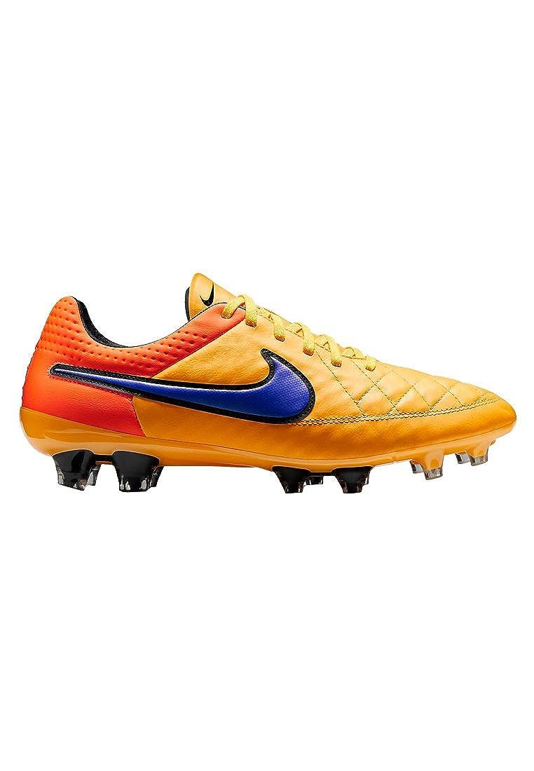 Orange Nike Tiempo Legend V FG, Stiefel de fútbol para Hombre