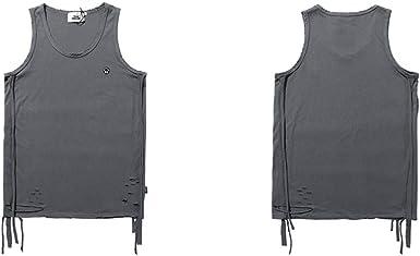 Chaleco Streetwear Hip Hop Camisetas de Tirantes para Hombre ...