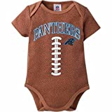 Licensed Sports Apparel Carolina Panthers Infants Boys Football Bodysuit - 3 to 6 Months