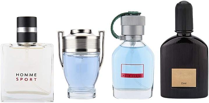 Set di fragranze per uomo, 4 x 25 ml Profumo Liquido