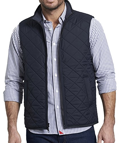 Price comparison product image UNTUCKit Men's Pommery Black Small Black Quilted Vest Small Black
