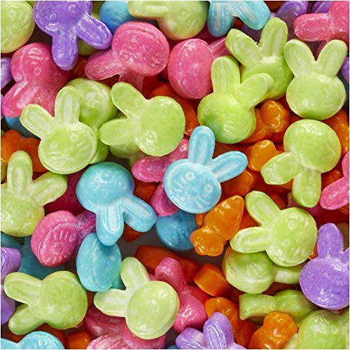 (Wilton 710-4375 Bunny and Carrot Sprinkle Mix)