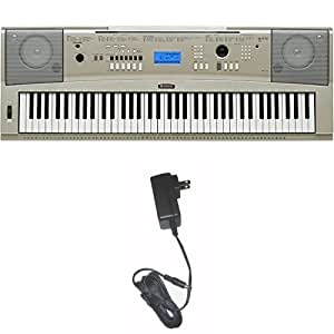 Yamaha ypg 235 76 key portable grand piano for Yamaha pa150 keyboard ac power adapter