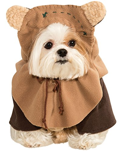 Dog Star Wars Ewok Pet Dress Up Funny Halloween Costume (S)