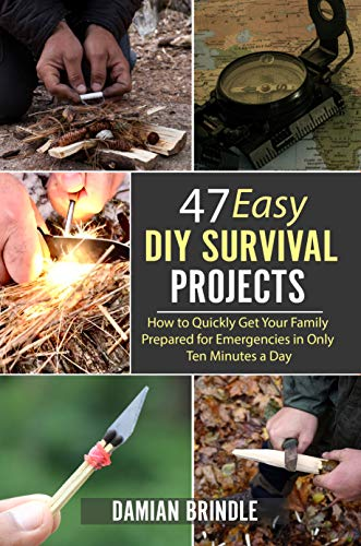 47 Easy DIY Survival Projects: How to Quickly Get Your Family Prepared for Emergencies in Only Ten Minutes a Day by [Brindle, Damian]