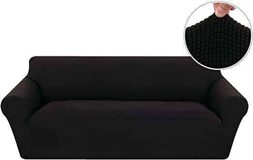 Souarts Sofa Slipcovers Home Decor Settee Couch Sets Removable Washable Stretch Fabric Non Slip Elastic Protector Chair Slipcovers 123 Seater