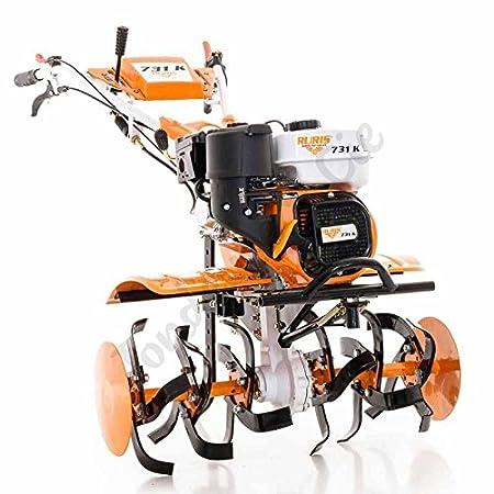 Motocultor 7,5 Cv 6 fresas velocidades 2AV - 1AR Ruedas agrarias 400 x 8 - Interruptor Ruris 731k: Amazon.es: Bricolaje y herramientas
