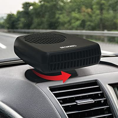 IdeaWorks - Portable Auto Heater and Defroster - Handy Winter Car Window