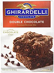 Ghirardelli Double Chocolate Brownie Mix, 18 Ounce