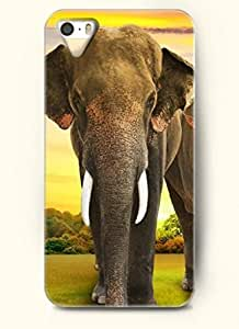 OOFIT Phone Case design with An Tired Elephant for Apple iPhone 5 5s 5g