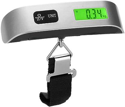 50 kg 110 LB /électronique LCD num/érique Portable Poids p/èse-Bagage de pes/ée /échelle pour Valise Bagages Sac de Voyage
