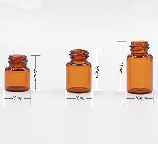 ... de botella con reductor de orificio y la tapa de viaje liquid recipiente aceite de fragancia botellas de vidrio gota cosméticos Loción de viaje para ...