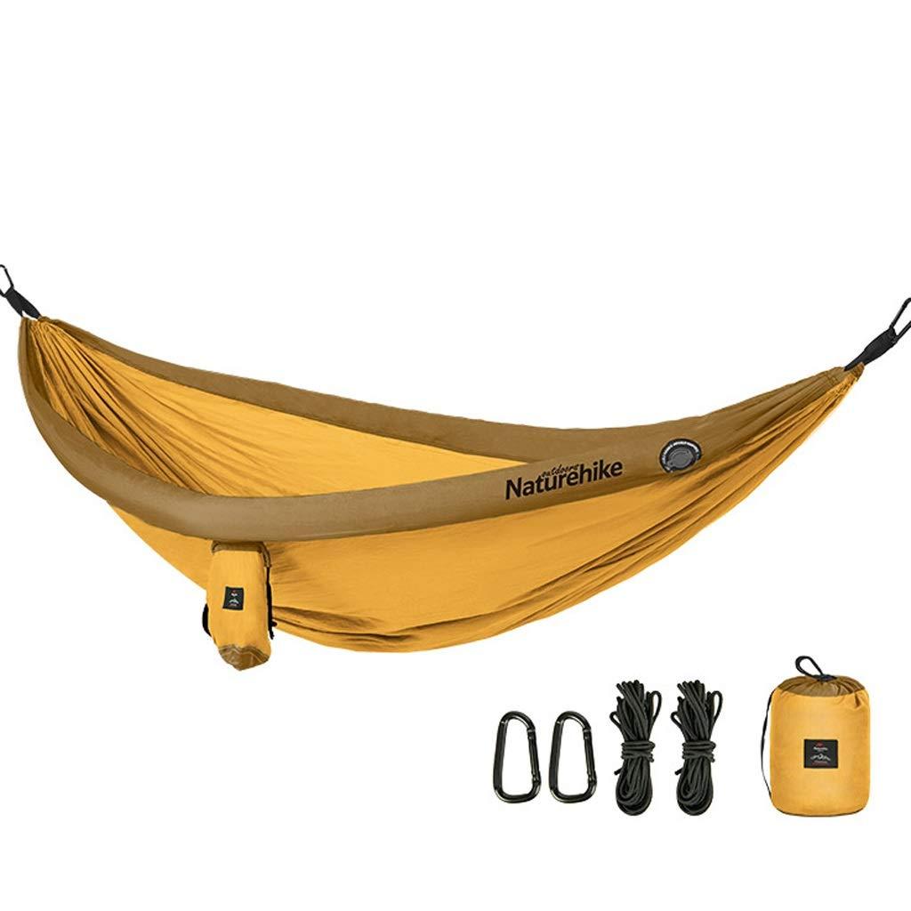 LSXLSD Camping Hammock-Portable-Outdoor, Randonnée pédestre, Randonnée pédestre, Voyage, Plage, Jardin-240cm (7.9foot) x173cm (5.7foot)  -