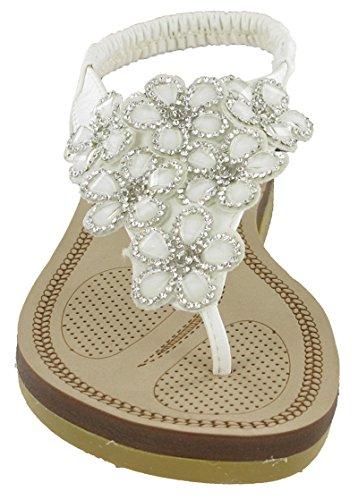White Donna Alla Savannah Strap Caviglia qa1ntwPI
