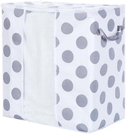 Foldable Storage Bag Clothes Blanket Quilt Closet Sweater Organizer Box Pouche B