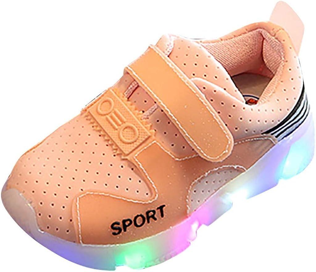 DAY8 Basket Fille Montante Scratch Mode LED Lumineuse Automne Chaussure Garcon Bebe Premier Pas Hiver Basket Enfants Gar/çon Sport Running Mesh Sneakers Fille Antiderapantes Pas Cher