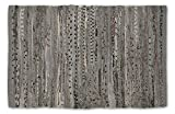 Entry Rugs DII 100% Cotton Reversible Chindi Rag Rug for Kitchen, Livingroom, Entry Way, Laundry Room, and Bedroom 20 x 31.5-Inches, Gray