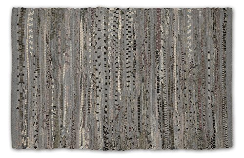DII Contemporary Reversible Floor Rug Bathroom,