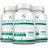 Prostarex - Extra Strength Vegan Saw Palmetto Supplement for Prostate Support – All Natural, Promotes Healthy Urination Frequency & Flow - 3 Bottles