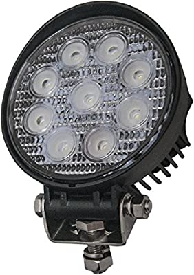 Round LED Tractor Work Light 8 Diode 4411 Replacement Work Lamp