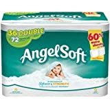 Angel Soft Toilet Paper, 36 Double Rolls, Bath Tissue by Angel Soft